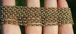 Victorian 9ct Gold Fancy Link Muff Chain R3088a