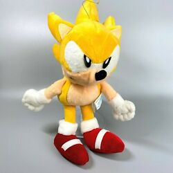 Rare 1997 Sonic The Fighters Super Sonic Plush Doll Toy Sega Sonic The Hedgehog