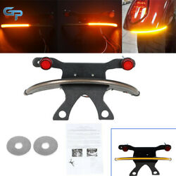 Fit For 03-17 Victory Vegas Amber Fender Tail Turn Signal Light Bar Tag Bracket