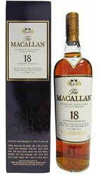 Macallan - Light Maghony Sherry Oak 2017 Annual Release 18 Year Old Whisky 70cl
