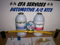 Refrigerant Kit/ Arctic Air And Oil Charge For R12 Systems / 1995-older Cars