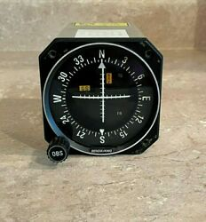 Bendix/king Ki-206 Vor/loc/ And Glideslope Indicator With Fresh Faa 8130 Form