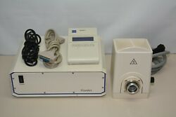 Carl Zeiss Hbo 100 Lamp House W/ Power Supply And Controller Fluoarc Z270