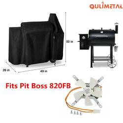 Waterproof Grill Cover Induction Fan For Pit Boss 820fb 820pb Wood Pellet Grills