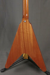 Gibson Flying V Antique Natural 205800166 With H/c Ships Safely From Japan