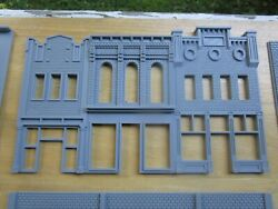1 S Scale Downtown Building 3 Buildings In One 3d Printed 1/64 164
