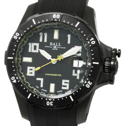Ball Watch Engineer Hydrocarbon Dm2176a Chronometer Men's Black Rubber Boxed