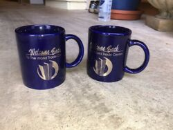 World Trade Center Welcome Back 1993 Bombing Mugs 2 Items Mint Condition