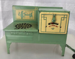 Vintage Electric Toy Range - Empire - Metal Toy Kitchen Stove - As Is
