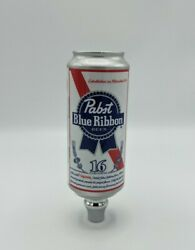 Pabst Blue Ribbon Pbr Beer Can Shaped Tap Handle