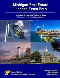 Michigan Real Estate License Exam Prep All-in-one Review And Testing To Pa...