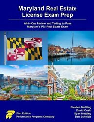 Maryland Real Estate License Exam Prep All-in-one Review And Testing To Pa...
