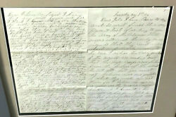 1864 Civil War Letter Supporting Bravery Of Negro Troops - Battle Of Crater
