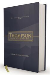 Nasb, Thompson Chain-reference Bible, Hardcover, Red Letter, 1977 Text