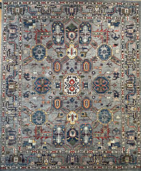 Hand-knotted Rug Carpet 8and0392x9and0398 Choeb Rang Mint Condition