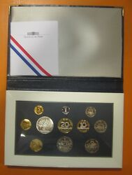 France - Coins In Portfolio Past Festive Gift- Year 1993 - Number Ps11 - Proof