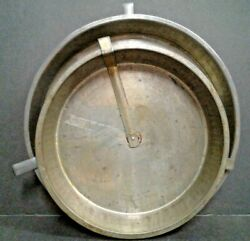 4 Vintage Layer Cake Pans Tins Easy Slider Release - 2 - 8 And 2 - 9.5 Unmarked