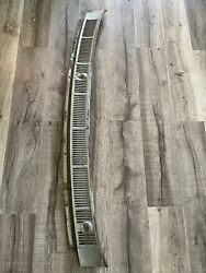 1965 1966 Ford Galaxie 500 Hood Cowl Vent Defroster Wiper Arm Cover Panel Grill