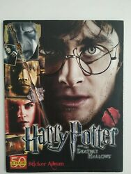 Complete Harry Potter And The Deathly Hallows Part 2 Panini Sticker Album 2011