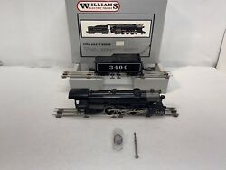 Williams Brass No. 5007 3400 At And Sf Usra 4-6-2 Steam Engine O Gauge Used
