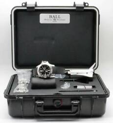 Ball Watch Engineer Hydrocarbon Spacemaster Limited Edition Black Rubber Boxed