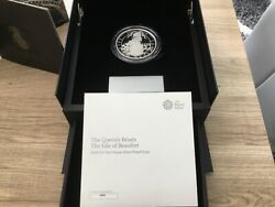 🇬🇧2019 Queens Beasts The Yale Of Beaufort Silver Proof 10oz Coin.