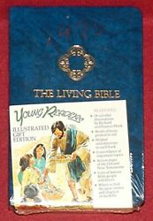 Holy Bible Young Readers Living/blue Imitation Leather - Hardcover Excellent