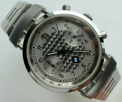 Bmw Classic Racing Car Accessory Mille Miglia Swiss Automatic Chronograph Watch