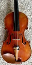 Pietro Lombardi Violin W/ Eastman Polycarbonate Case And Bow