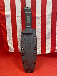 Sog Seal Pup Elite Fixed Blade Knife With Kydex Sheath💎💎💎💎💎