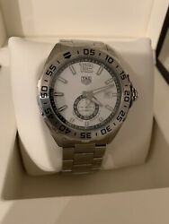 Tag Heuer Waz2013.ba0842 Formula 1 43mm Menand039s Stainless Steel Watch