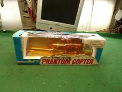 Vintage Battery Operated Super Copter Helicopter Toy with Original Box