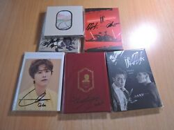 Super Junior Old 2 Promo With Autographed Signed 300usd Free Shipping