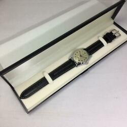 Lip Lip Menand039s Watch Elgiloy Elgiloy Hand-winding Boxed And03960s Silver Black