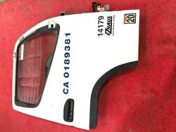 2010 Mitsubishi Fuso Fe180 Rh Right Front Door Assembly White