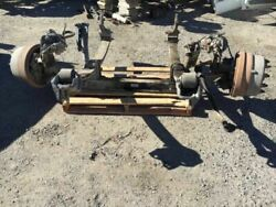 00 Freightliner Fl80 8.3l Isc 8,000lb Rockwell Front Axle Suspension And Brakes