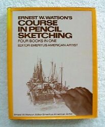 Ernest W. Watsonand039s Course In Pencil Sketching Four Books By Ernest William
