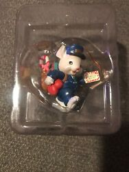Lustre Fame/not Enesco Christmas Ornament Merry Mailmouse Postal Worker New