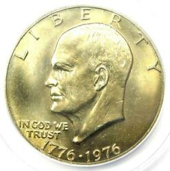 1976 Type 1 Eisenhower Ike Dollar 1 - Certified Anacs Ms66 - 1500 Guide Value