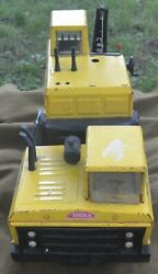 Vintage 1970and039s Metal Mighty Tonka Crane Cab Mr-970 Missing Parts