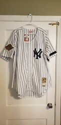 100 Authentic Mitchell And Ness 96 Yankees Wade Boggs World Series Jersey 52 Xxl