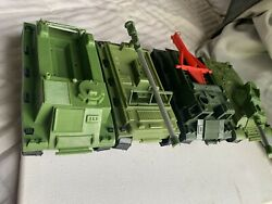 Vintage Rare Multiple Toymakers Mpc Jungle Battlefront Plastic Toy Army Play Set