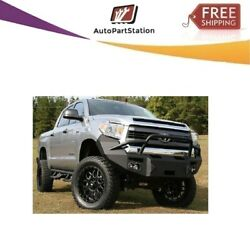 Tt14-h2852-1 Fab Fours For 2014-2017 Toyota Tundra Premium Winch Front Bumper