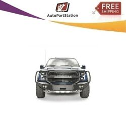 Fab Fours Ff17-h4350-1 For 17-18 Ford F-150 Premium Winch Full Guard Bumpers