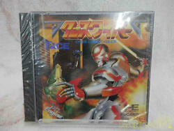 Face Cross Wiber Cyber-combat-police Nec Pc-engine Hucard From Japan He System
