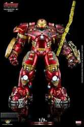 King Arts Avengers Iron Man Mark 44 Damaged Version Electric 1/9 Scale Diecast
