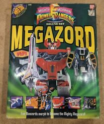 1993 Mighty Morphing Power Rangers Mmpr Megazord 99 Complete W/ Box