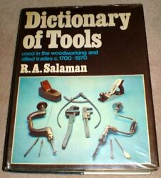 Dictionary Of Tools Used In Woodworking And Allied Trades, By Raphael A. Salaman