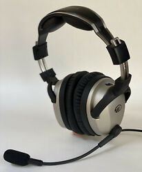 Lightspeed Zulu 2 Headset With Case Bluetooth And Coiled Dual Aviation Plugsandnbsp