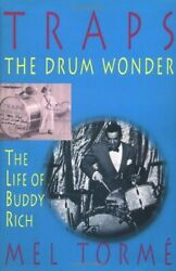 Traps - Drum Wonder Life Of Buddy Rich Hardcover By Mel Torme Mint Condition